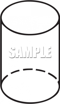 Royalty Free Clip Art Image: Black and White Outline of a.