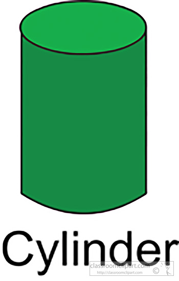 Clipart cylinder shape.