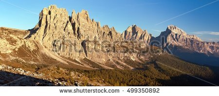 Croda Di Lago Stock Photos, Royalty.