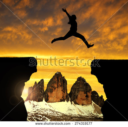 Jumping Over Stock Photos, Royalty.