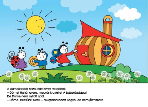 Könyv: Bogyó és Babóca rajzol (Bartos Erika).