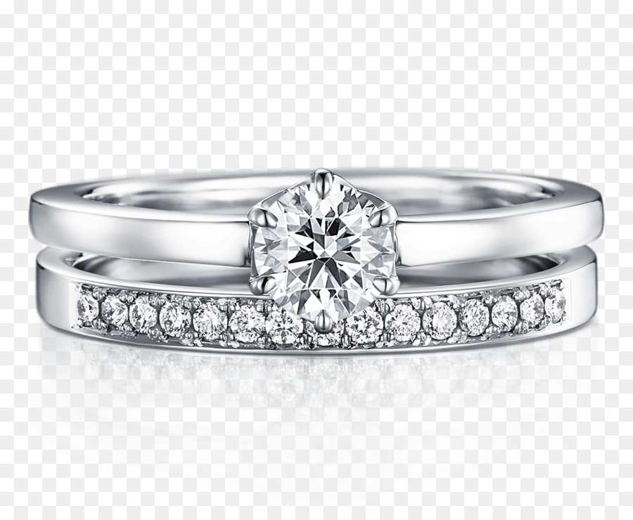 Silver Wedding Ring.