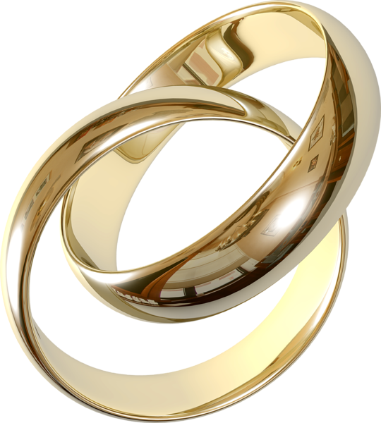 Transparent Wedding Rings Clipart.