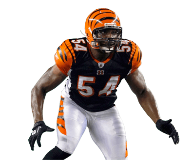 Cincinnati Bengals Player transparent PNG.