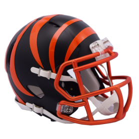 Cincinnati Bengals Blaze Alternate Speed Mini Helmet.