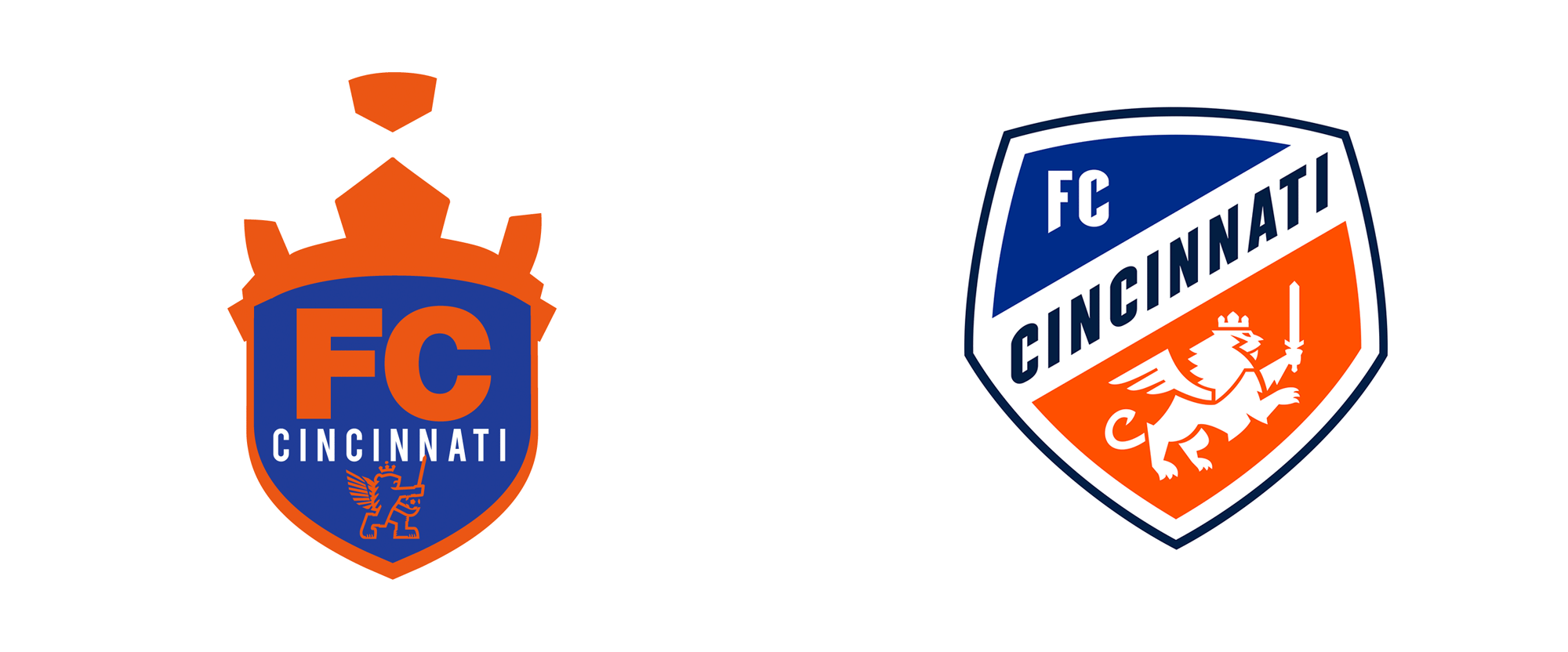 Brand New: New Crest for FC Cincinnati by Interbrand.