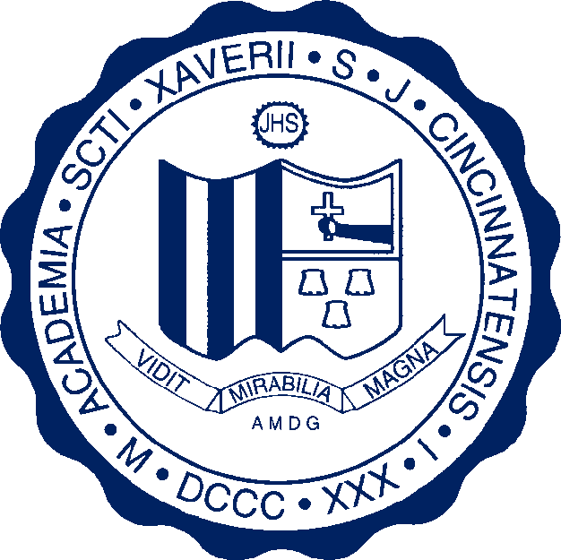 File:Seal of St. Xavier High School (Cincinnati).png.