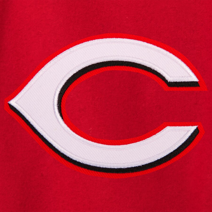 Women\'s Cincinnati Reds JH Design Red Embroidered Logo All.
