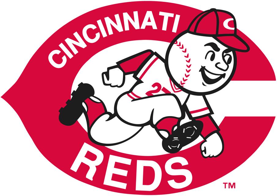Cincinnati Reds Primary Logo.