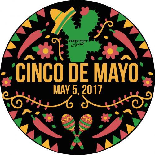 Cinco De Mayo May 5, 2017 Round Sticker.