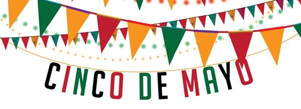 Happy Cinco De Mayo Banner.