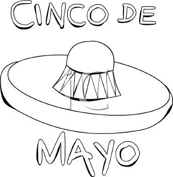 Cinco de mayo clipart black and white » Clipart Station.