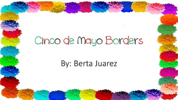 Cinco De Mayo Border Worksheets & Teaching Resources.