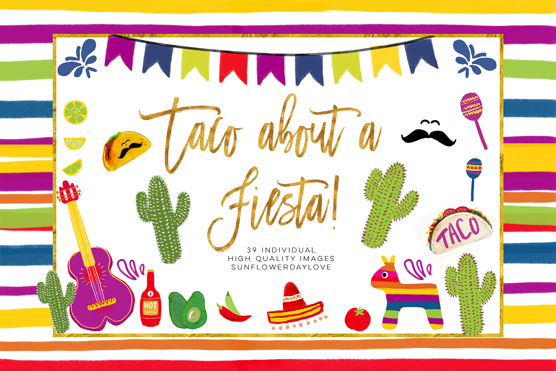 Fiesta Digital Clipart, Cinco De Mayo Clipart, Taco about fiesta clipart,  Mexican cinco de Mayo clipart, Sombrero Mariachi Guitar Mexican Hat.