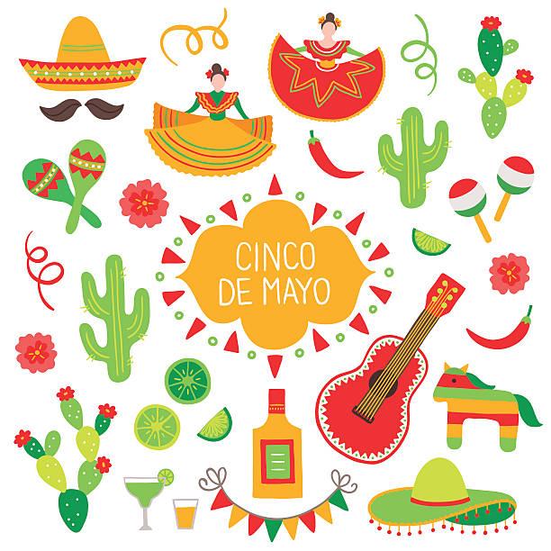 Best Cinco De Mayo Illustrations, Royalty.