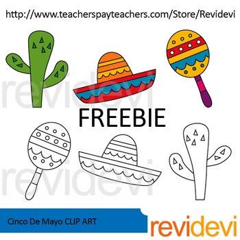 Cinco De Mayo Free Clip Art.