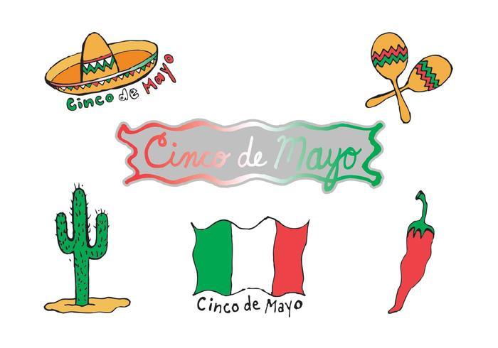 Free Cinco de Mayo Clip Art Vector Series.