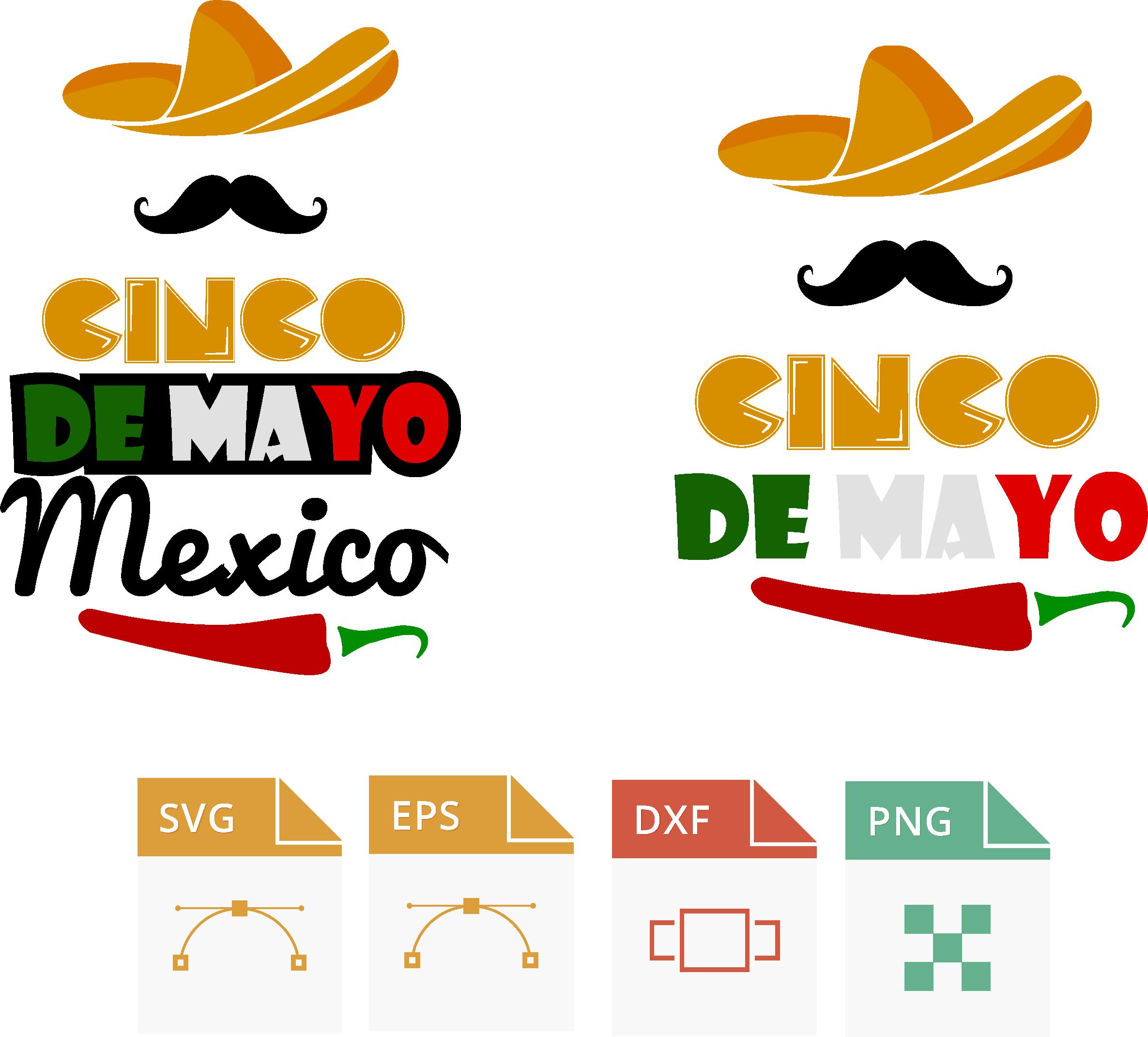 Cinco de Mayo clipart. Mexican holiday mariachi dancers, musicians,  maracas, planner stickers, fiesta, commercial use.