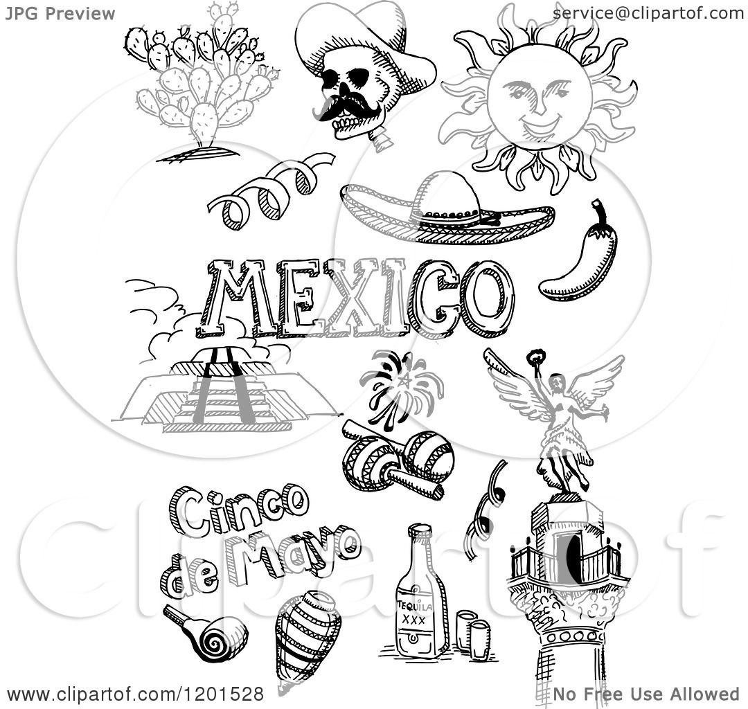 3989 Mexican free clipart.