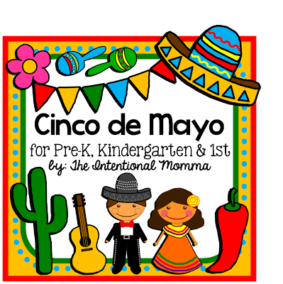 Cinco de Mayo printable unit for May! Celebrate Mexican heritage.