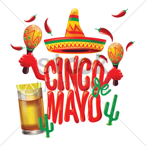 Cinco de mayo design Vector Image.