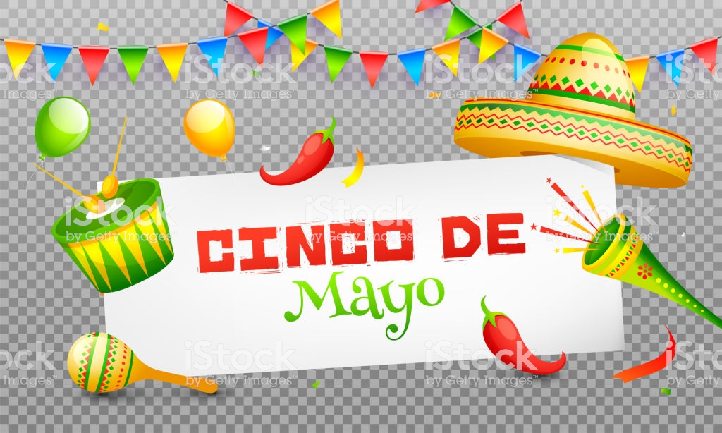 Cinco De Mayo Celebration Header Banner Or Poster Design On Png.