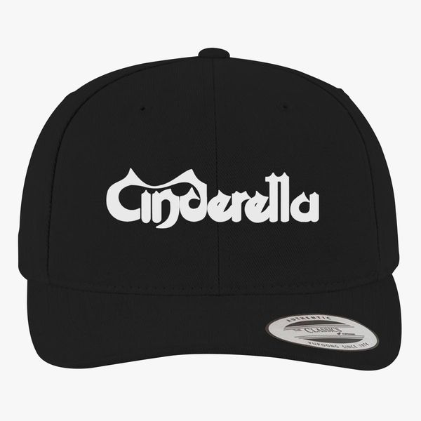 Cinderella Band Logo Brushed Cotton Twill Hat (Embroidered).
