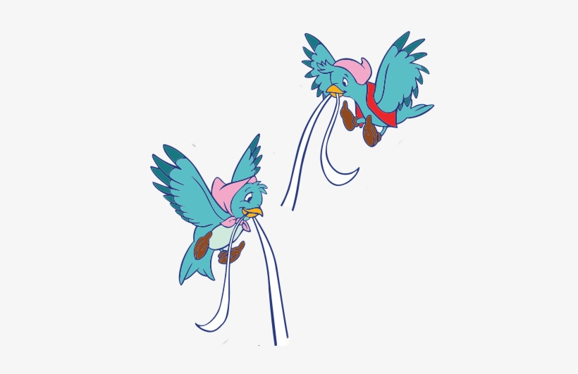 Cinderella Birds Png Download.