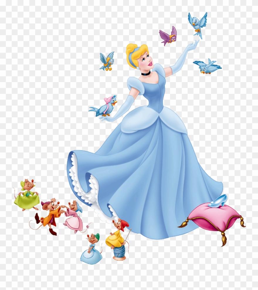 Cinderella Birds Clipart.