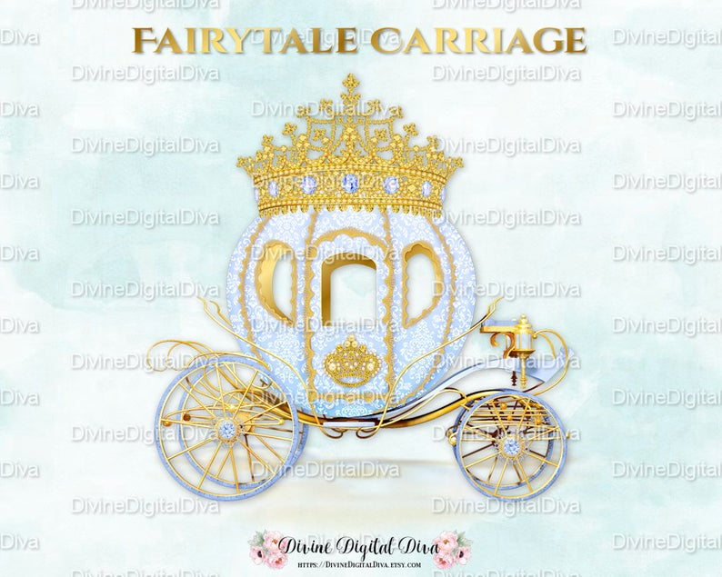 Blue Prince Cinderella Carriage Coach.