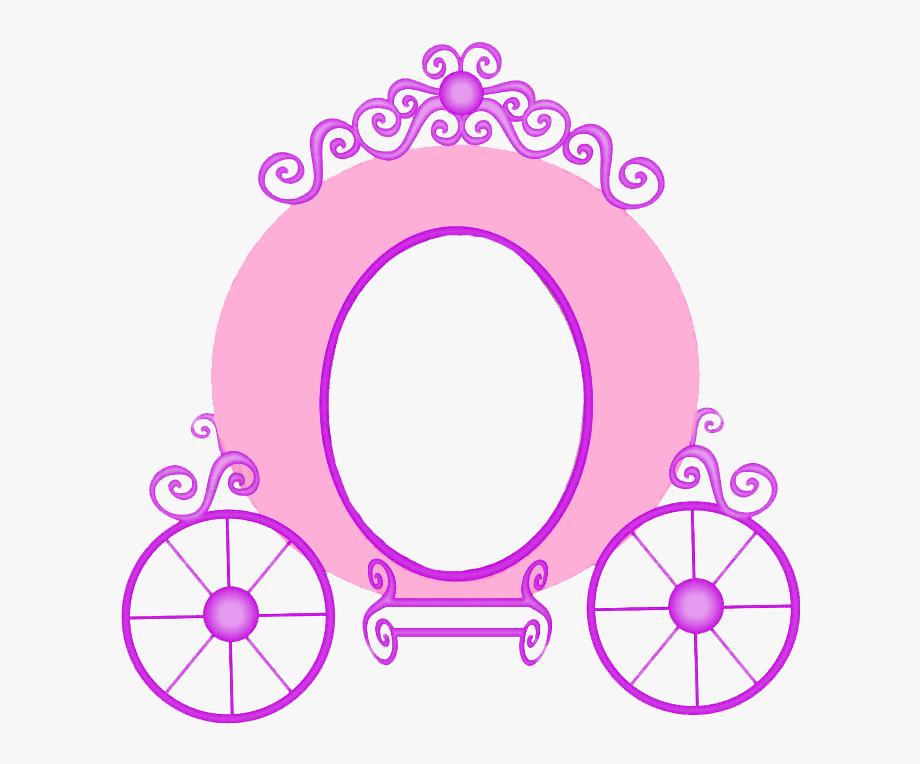 Cinderella Carriage Princess Clip Art.