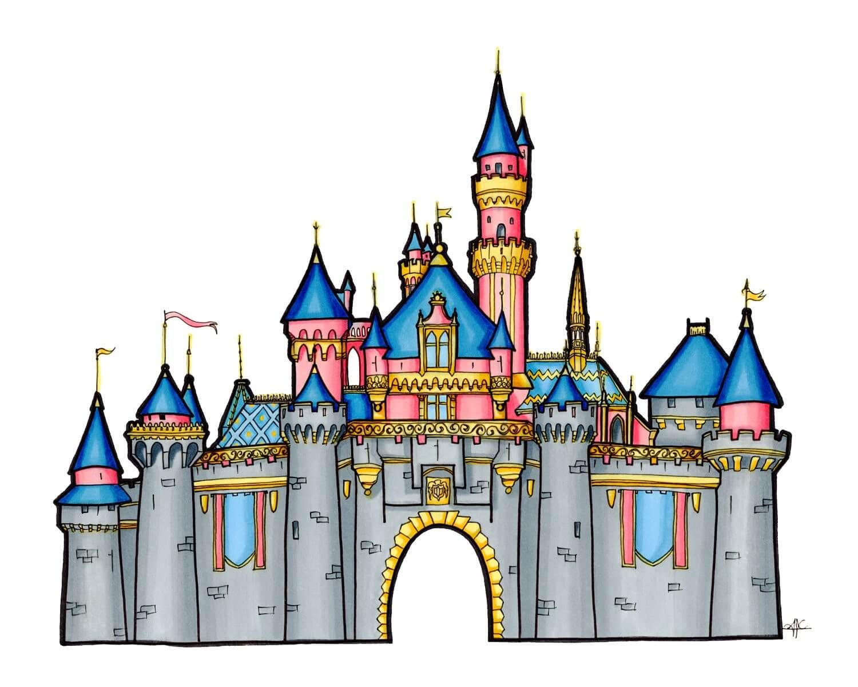 Disney Castle Clipart.