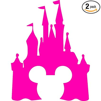 Amazon.com: ANGDEST Cinderella Castle Clipart (Pink) (Set of 2.