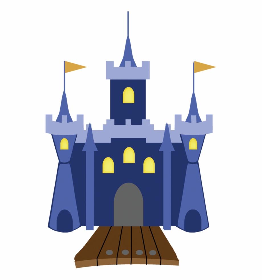 Graphic Cinderella Castle Clipart.