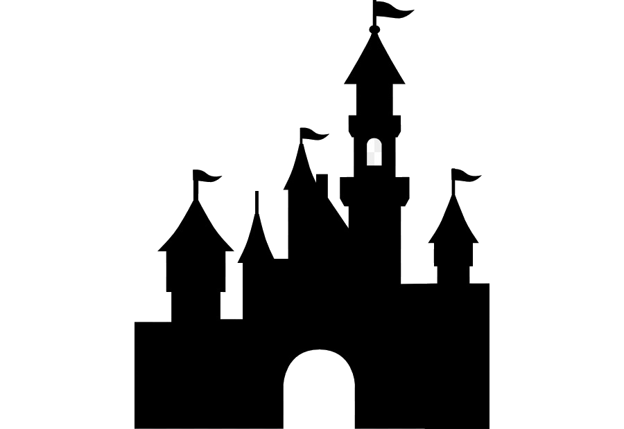 Disney Castle Silhouette Transparent Clipart Sleeping Beauty.