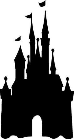 Cinderella Castle Clipart Black And White.