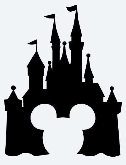 Free Disney Castle Silhouette, Download Free Clip Art, Free.