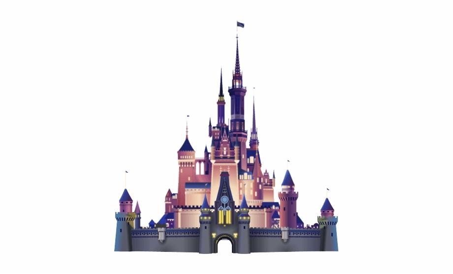 Free Disneyland Castle Clipart.