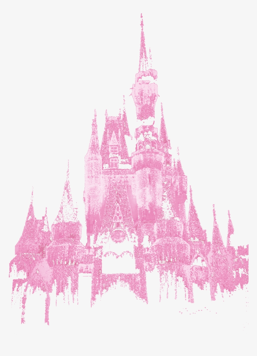 Cinderella Castle Silhouette Png For Kids.