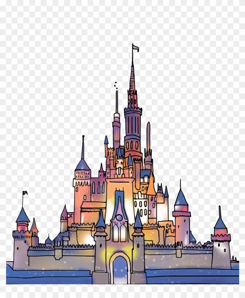 Disney Castle Logo Transparent.