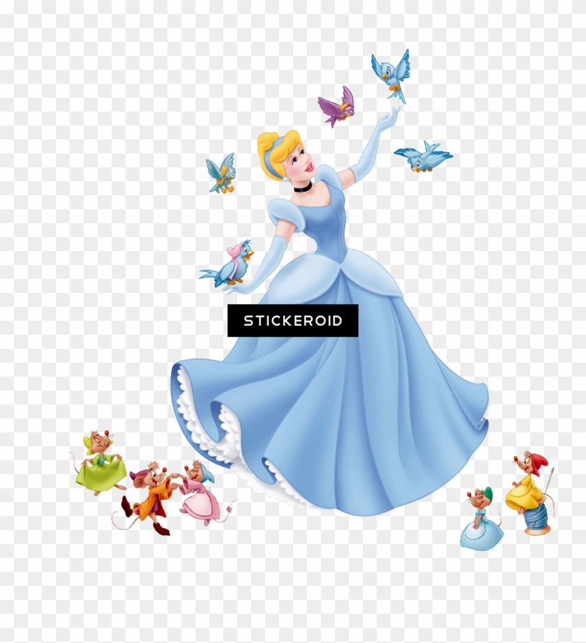 Clip Art Cinderella Mice , Png Download.