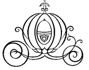 Cinderella Pumpkin Carriage Clipart.
