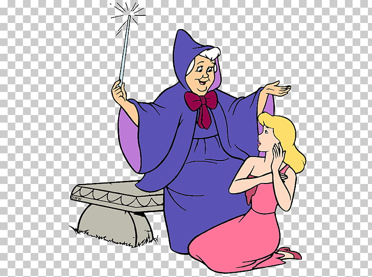 Fairy godmother Cinderella The Walt Disney Company , others PNG.