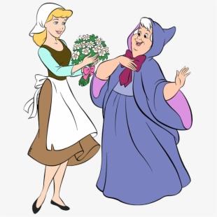 Cinderella Clipart Fairy Godmother Cinderella.