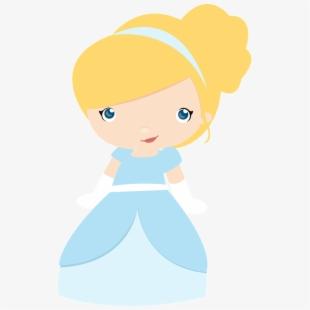 Cinderella Kids Clip Art.