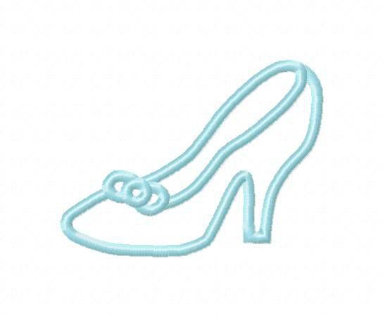 Disney Template Cinderella's Slipper.