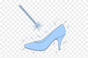 Cinderella glass slipper clipart 2 » Clipart Portal.