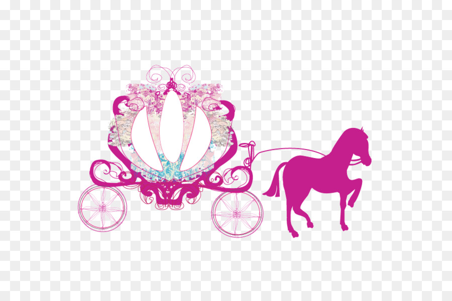 Carriage Cinderella Horse And Buggy Clip #62595.