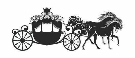 Cinderella horse and carriage clipart 2 » Clipart Portal.