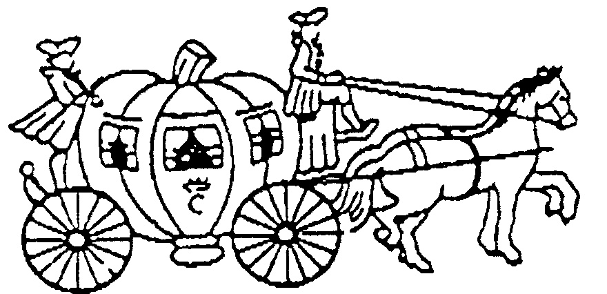 Download cinderella horse and carriage drawing clipart Horse.